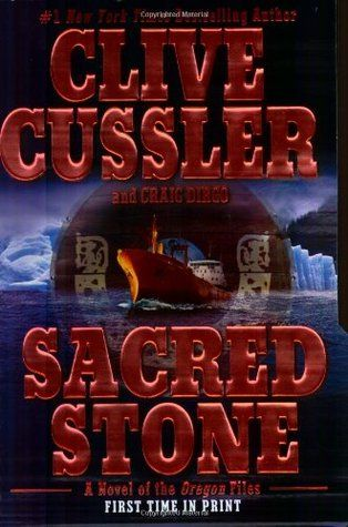 Clive Cussler - Sacred Stone  -  MP3 Audio Book on Disc