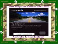 GPS Maps for most Garmin GPS Devices.