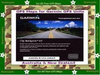 Garmin Australia & N.Zealand Micro SD Card (FREE POSTAGE)