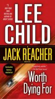 Jack Reacher - Worth Dying For by Lee Child Audio Book