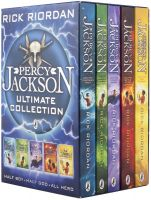 Percy Jackson and The Olympians-By Rick Riordan