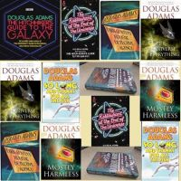 Douglas Adams - 8 popular Titles-Audio Books