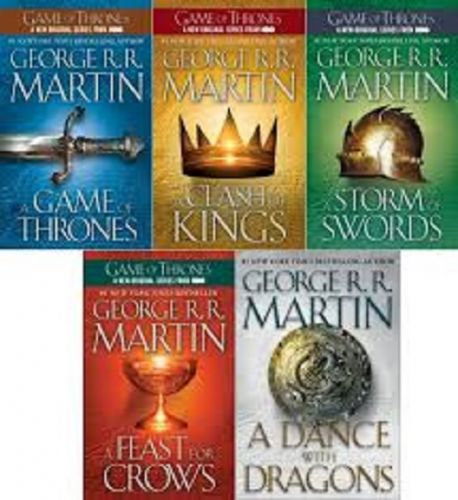 Game of Thrones, E Books - 13 titles